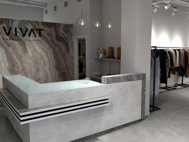 Торговое оборудование для магазина VIVAT